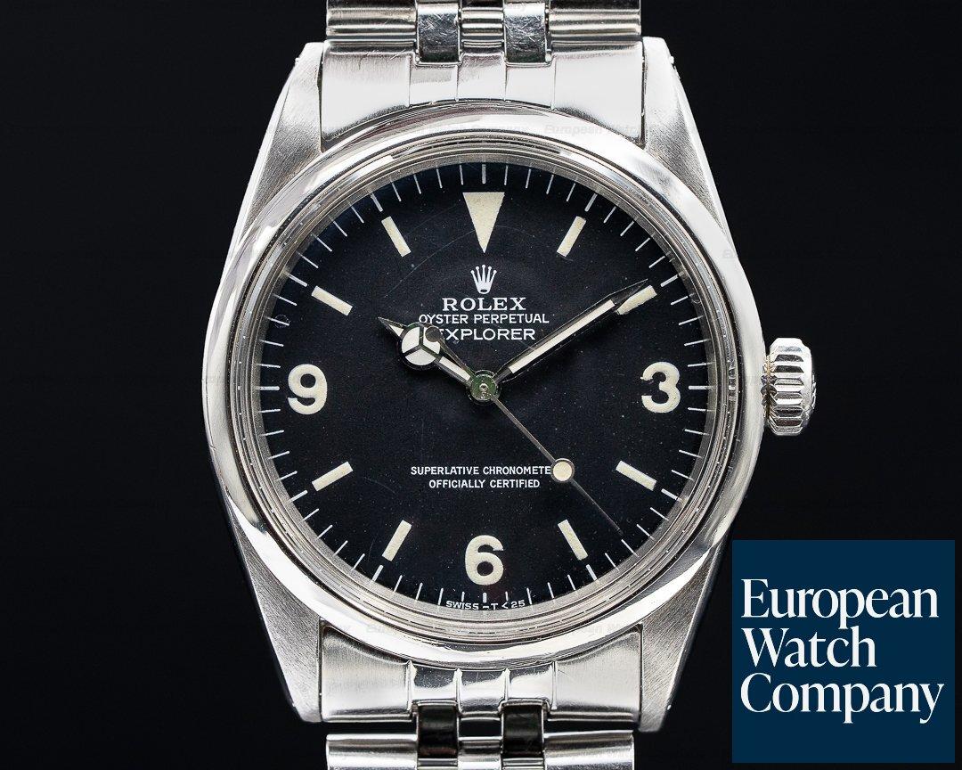 Rolex Vintage Explorer 1016 I c. 1967 Ref. 1016