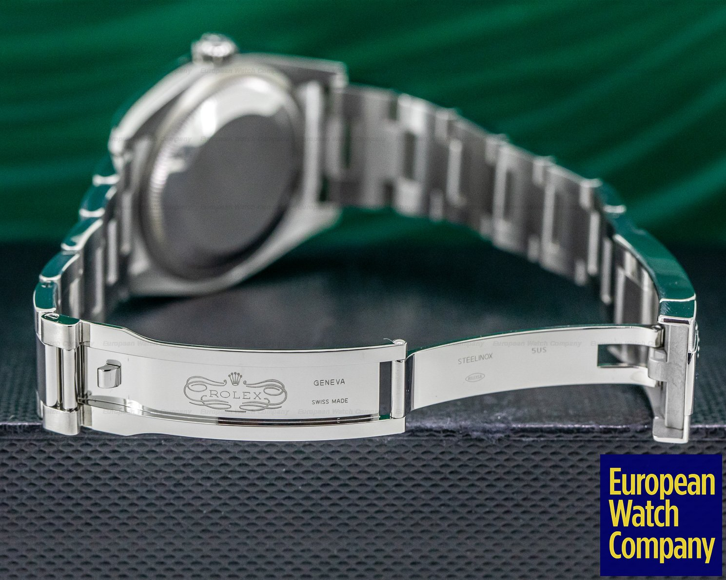 Rolex 116200 Datejust Rhodium Roman Silver Dial