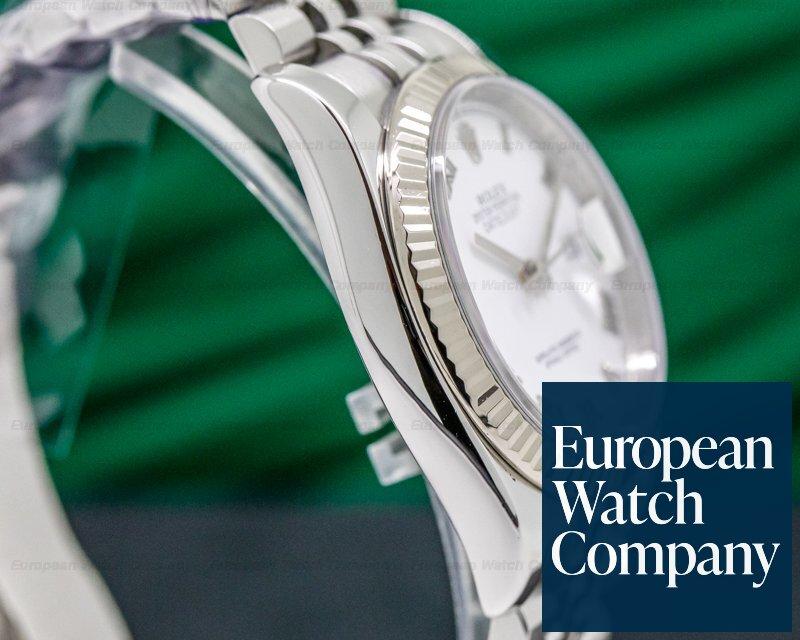 Rolex 116234 Datejust SS Jubilee Silver Roman Dial