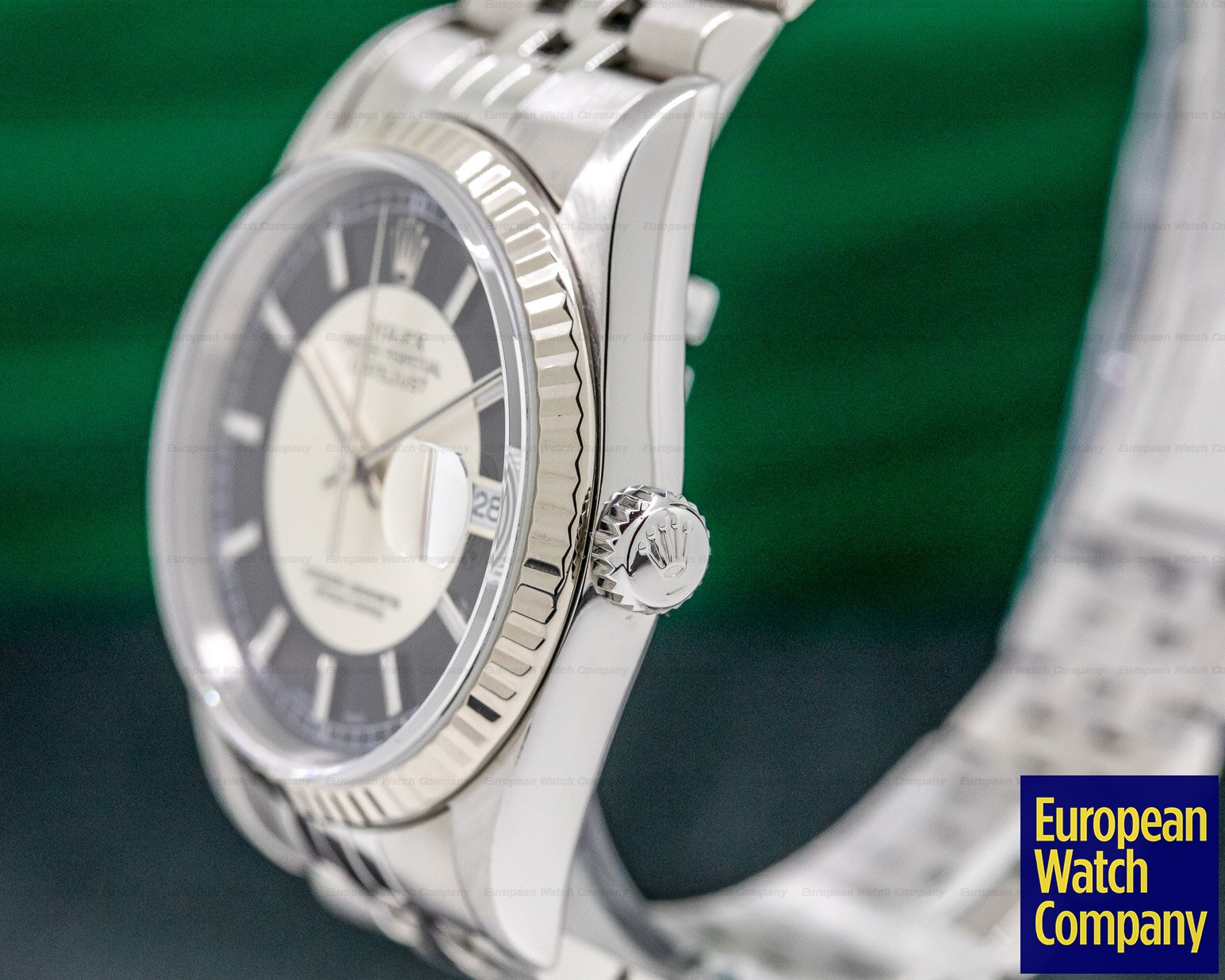 "Rolex 116234 Datejust SS Silver / Black Dial ""Tuxedo"""