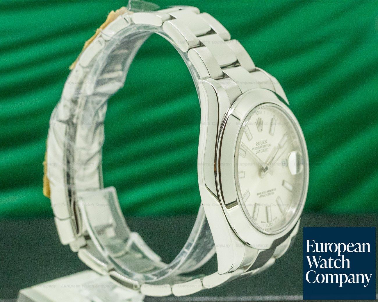 Rolex 116300 Datejust II SS Silver Dial
