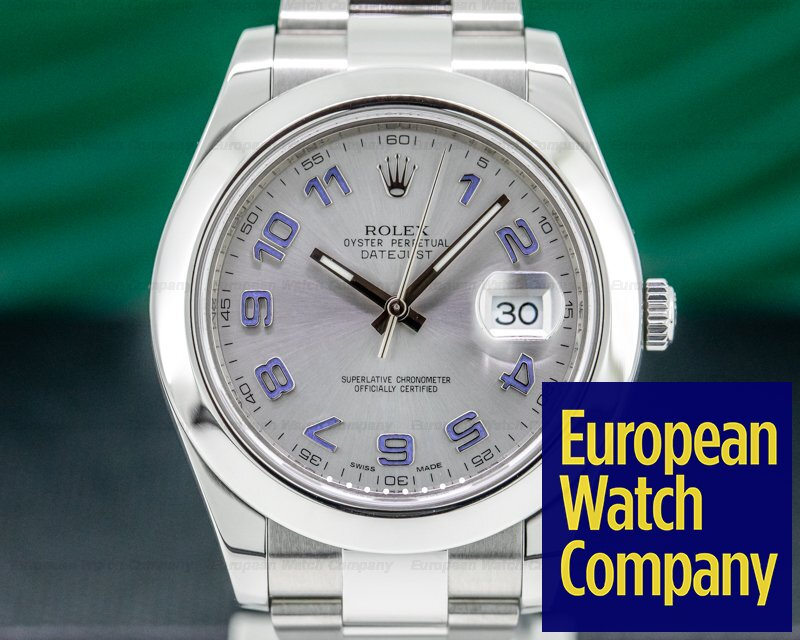 Rolex 116300 Datejust II SS Silver Dial