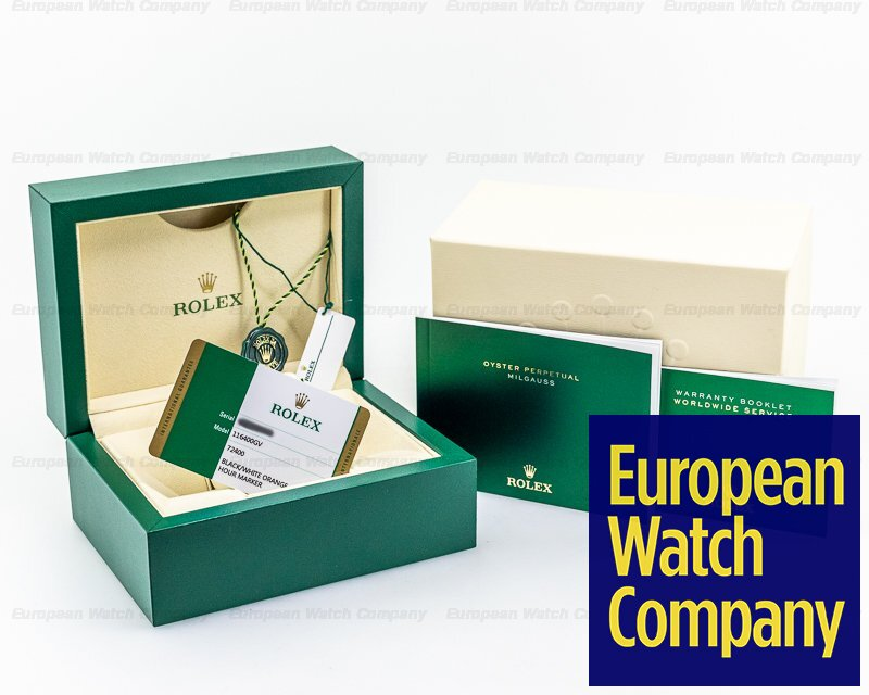 Rolex 116400GV Milgauss 116400GV Green Crystal Edition