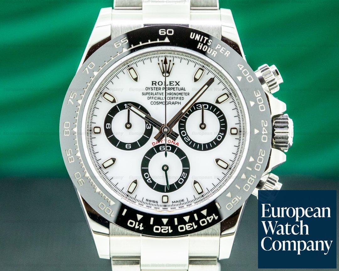 Rolex 116500LN Daytona 116500LN Ceramic Bezel SS / White Dial