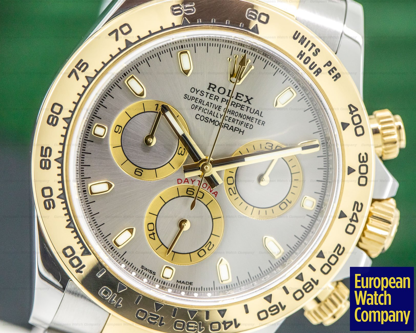 Rolex 116503 Daytona Slate Grey Dial 18K Yellow Gold / SS