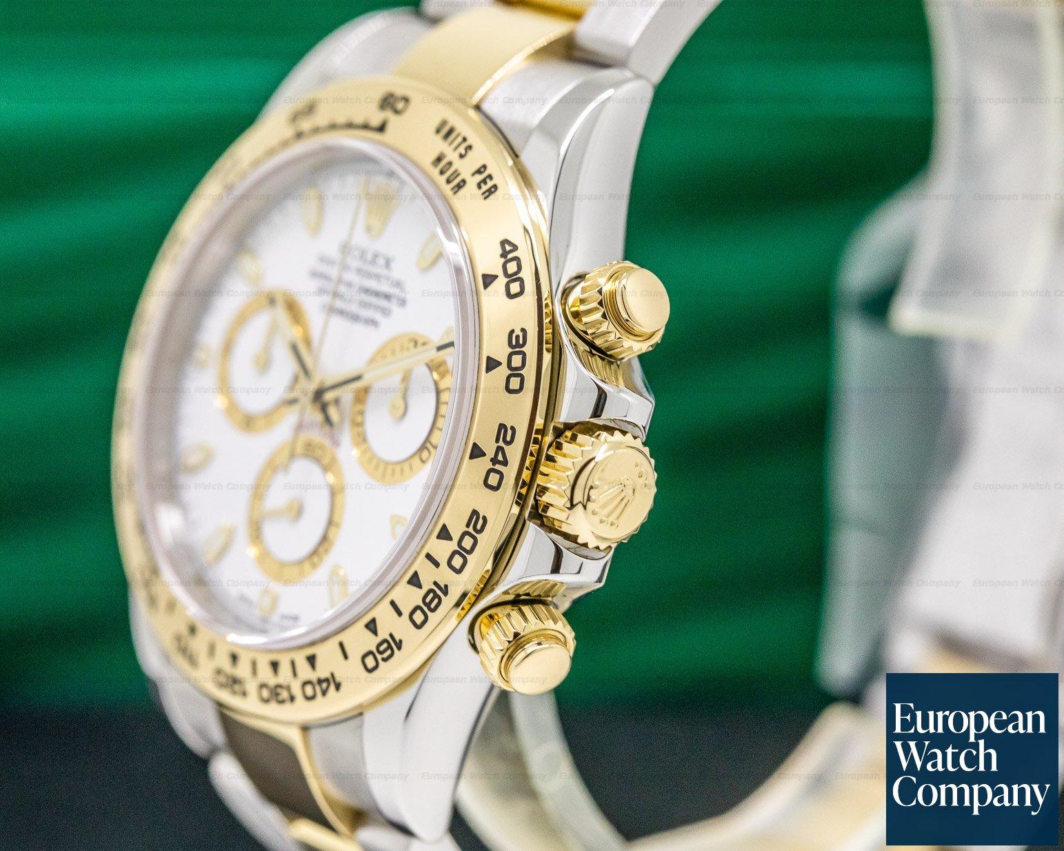 Rolex 116503 Daytona White Dial 18K / SS