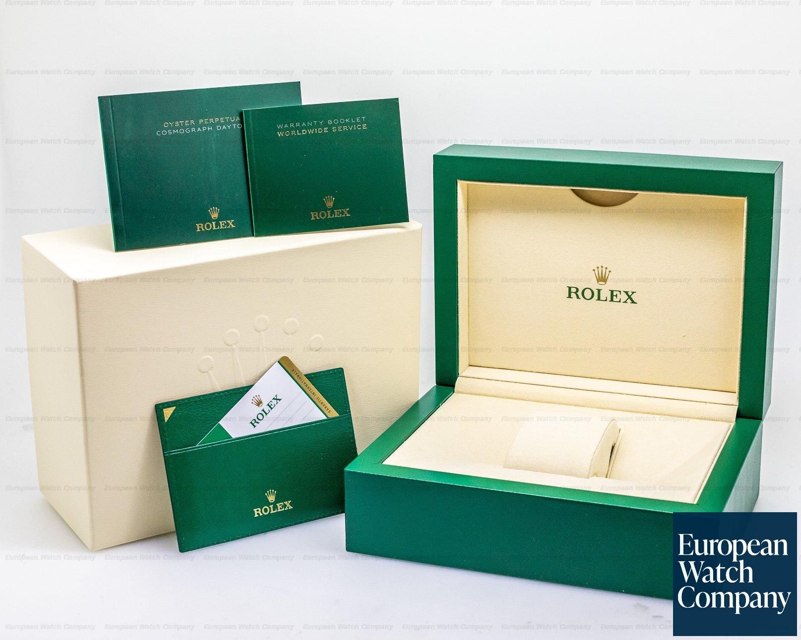 Rolex 116508 Daytona 18k Yellow Gold / Bracelet GREEN DIAL UNWORN & STICKERED