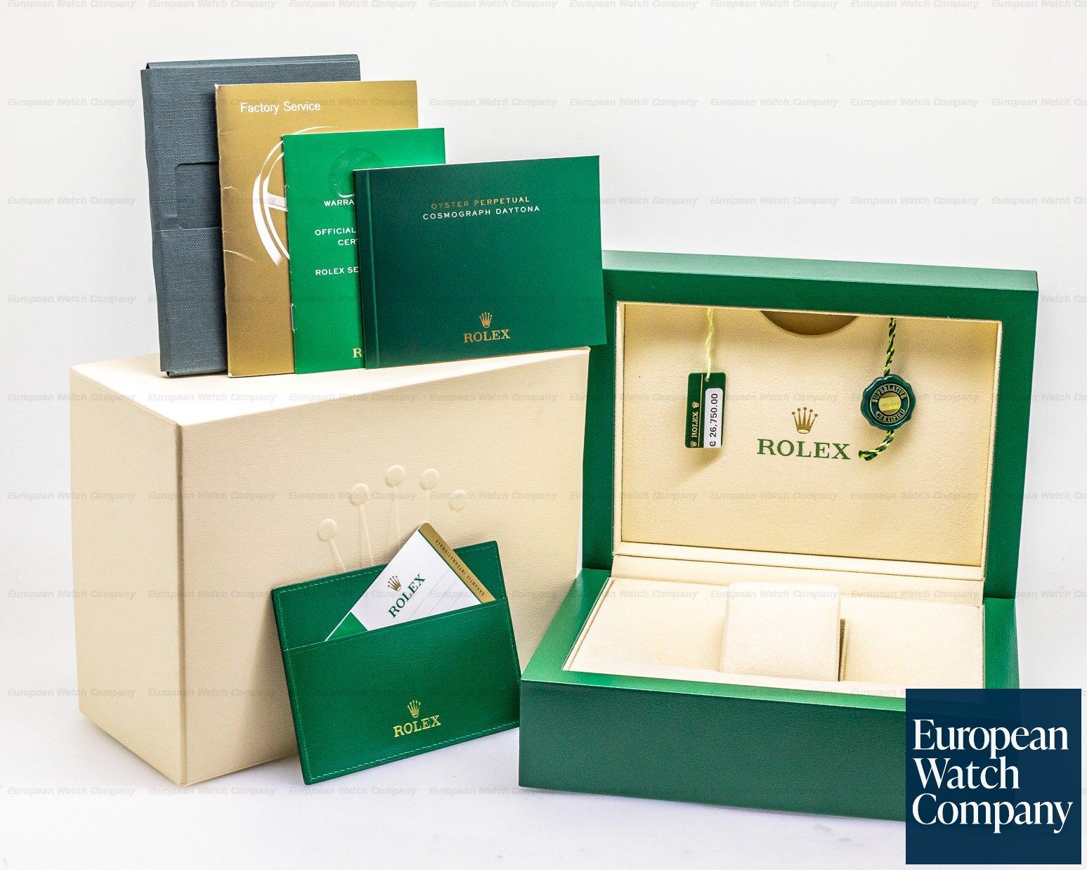 Rolex 116515LN Cosmograph Daytona 18K Rose Gold Ivory Dial / Alligator