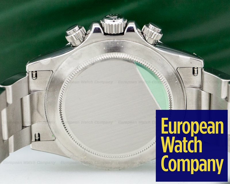 Rolex 116520 Daytona White Dial SS / SS NEW OLD STOCK