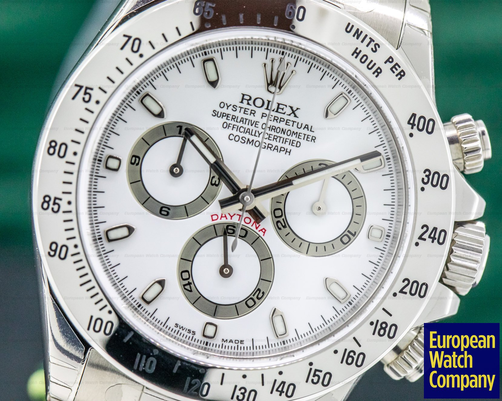 Rolex 116520 Daytona White Dial SS / SS NEW OLD STOCK