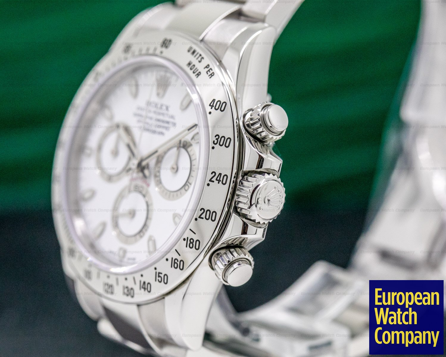 Rolex 116520 Daytona White Dial SS FULL SET ORIGINAL OWNER