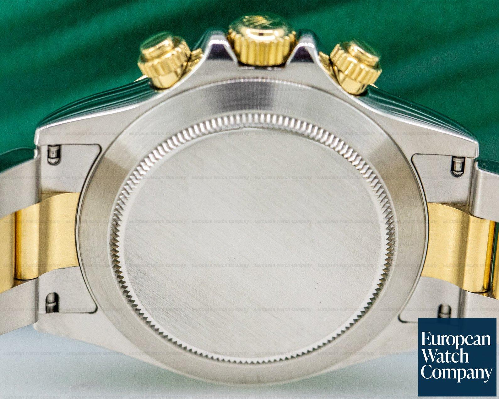 Rolex 116523 Daytona Slate Dial 18K Yellow Gold / SS