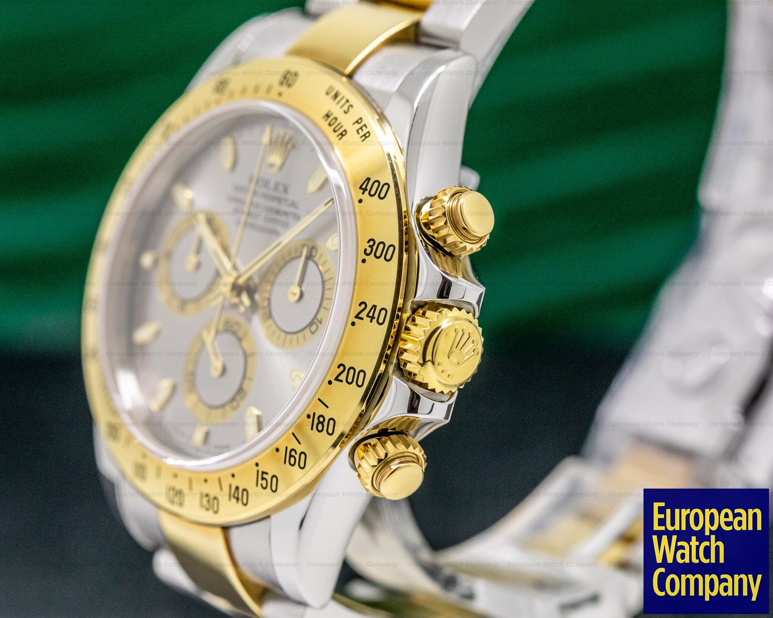 Rolex 116523 Daytona Slate Dial 18K Yellow Gold / SS FULL SET