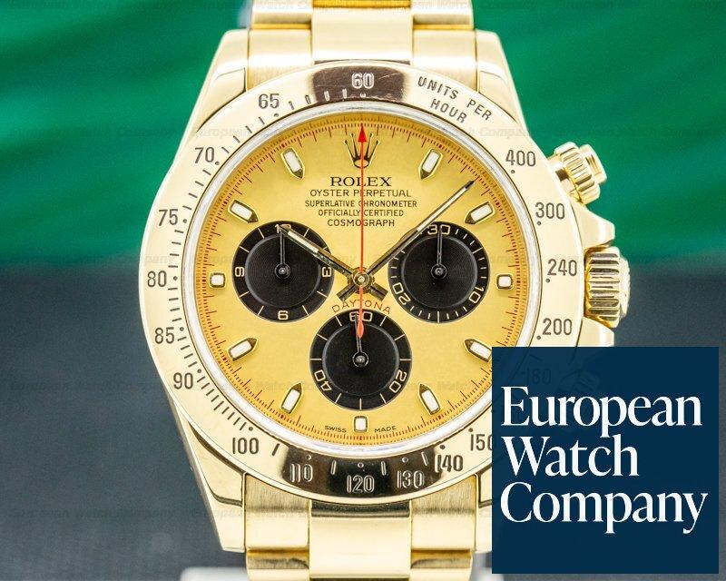Rolex 116528 Daytona 116528 18K Yellow Gold / Gold Dial