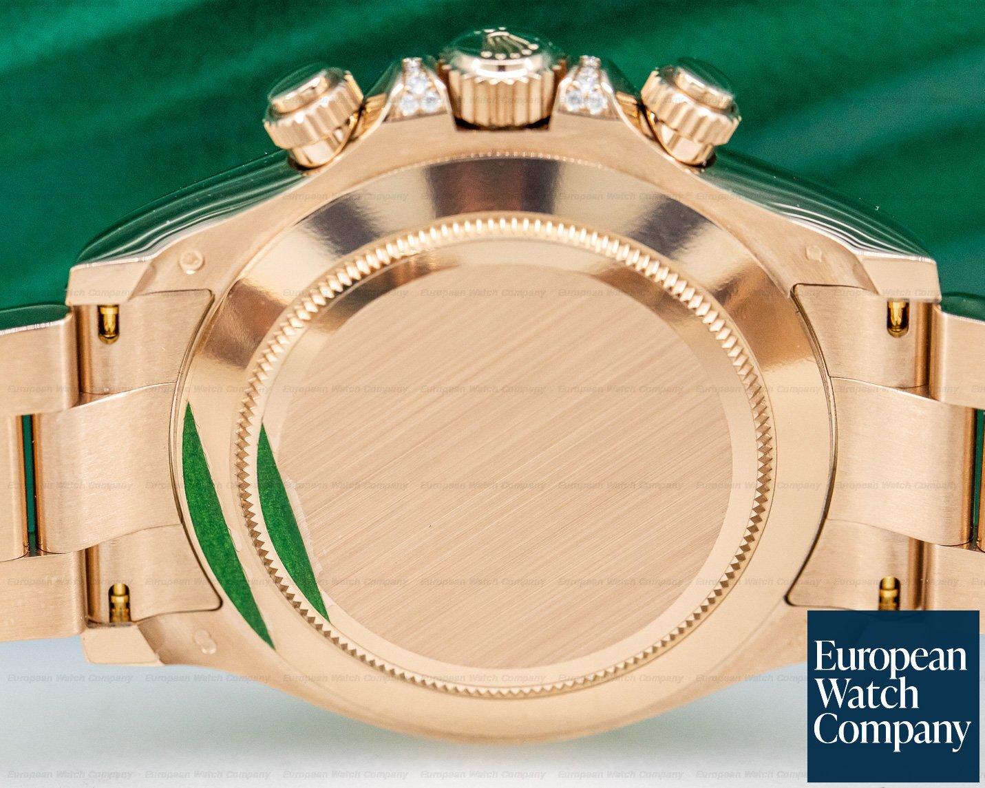 Rolex 116598RBOW Daytona RAINBOW / Rose Gold Black Dial 116598RBOW UNWORN