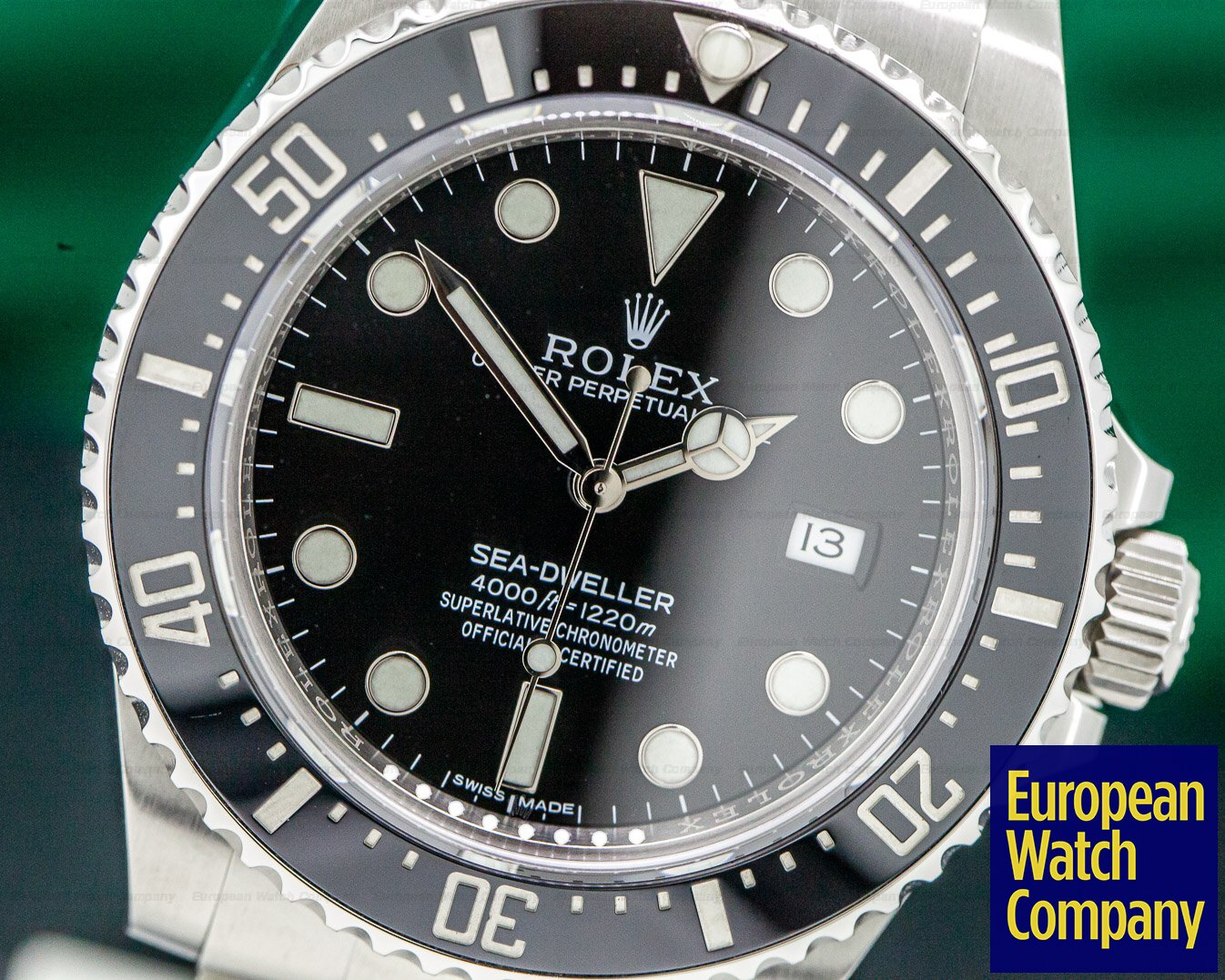 Rolex 116600 Sea Dweller 4000 SS DISCONTINUED