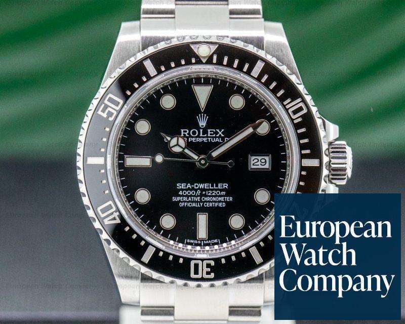 Rolex 116600 Sea Dweller 4000 SS DISCONTINUED