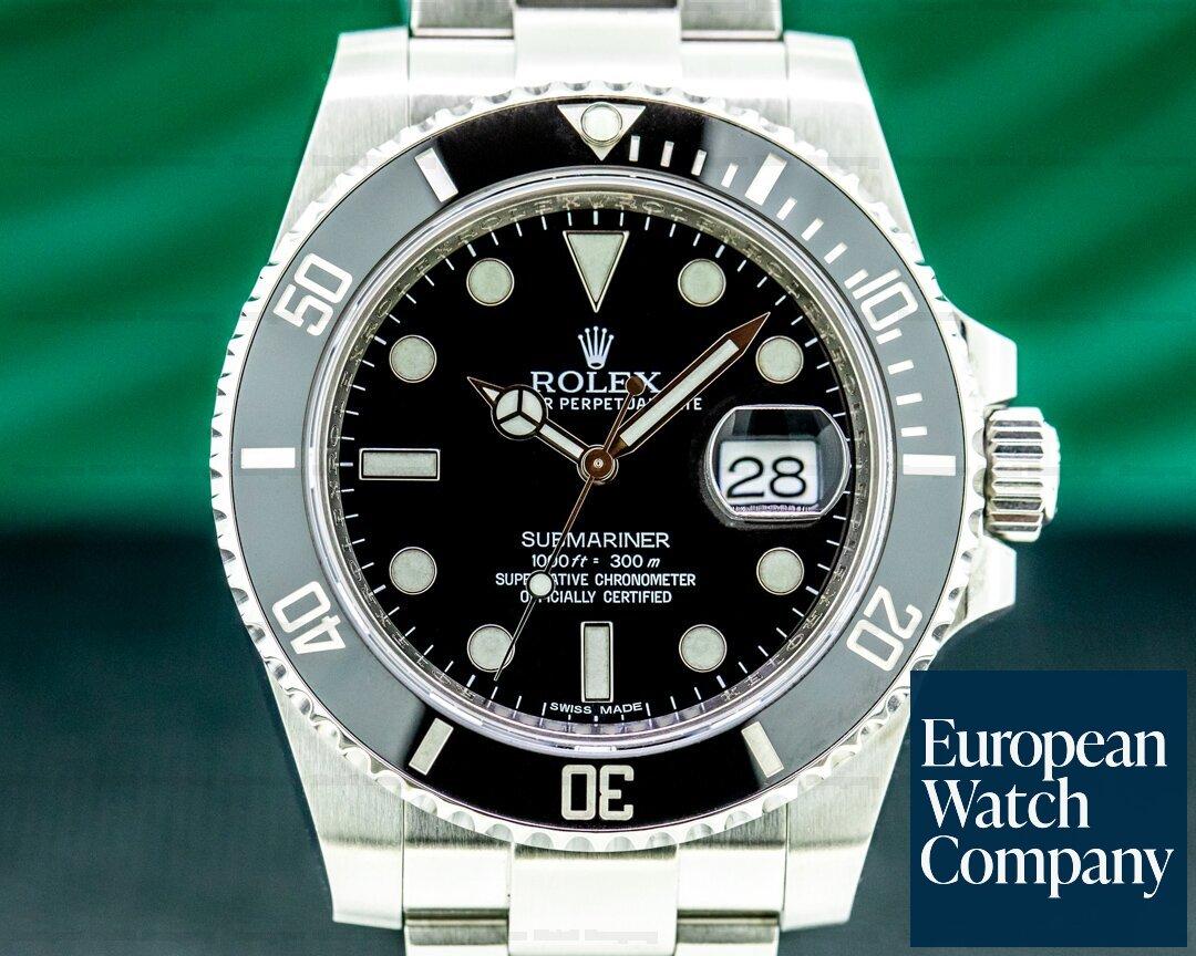 Rolex 116610LN Submariner 116610 Ceramic SS