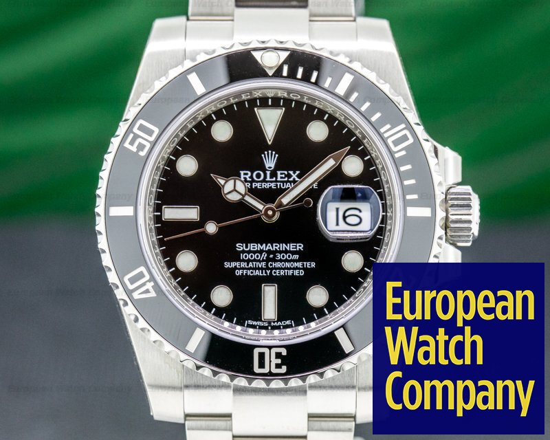 Rolex 116610LN Submariner 116610 Ceramic SS UNWORN