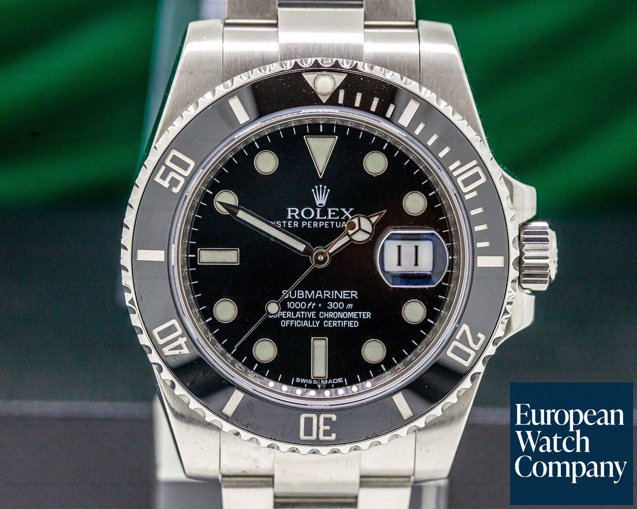 Rolex 116610LN Submariner Ceramic SS / SS