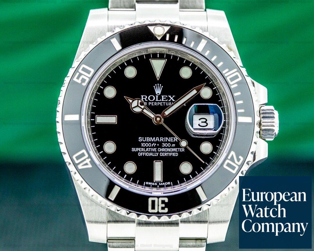 Rolex Submariner Date 116610LN Ceramic SS Ref. 116610LN