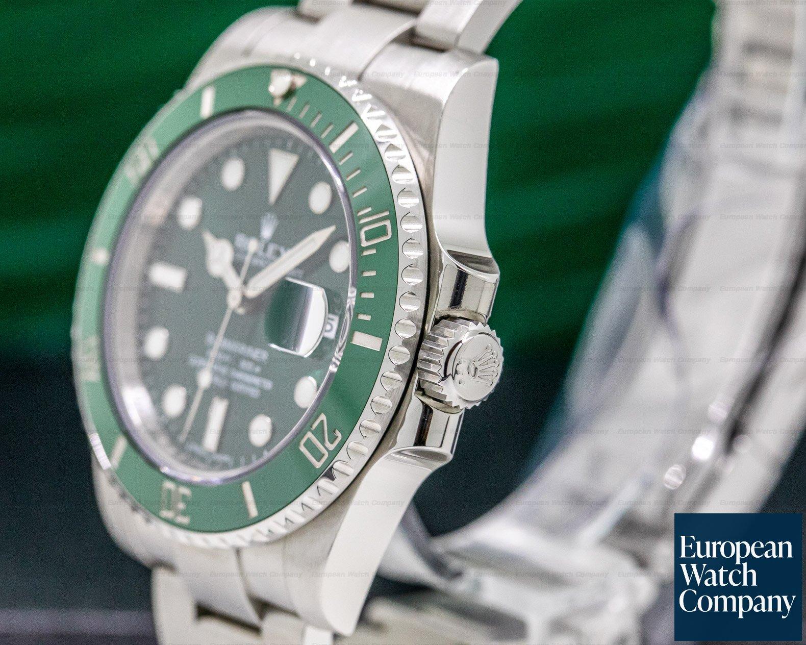 "Rolex 116610LV OMAN KHANJAR Submariner Green Ceramic ""OMAN KHANJAR"" Green Dial RARE"