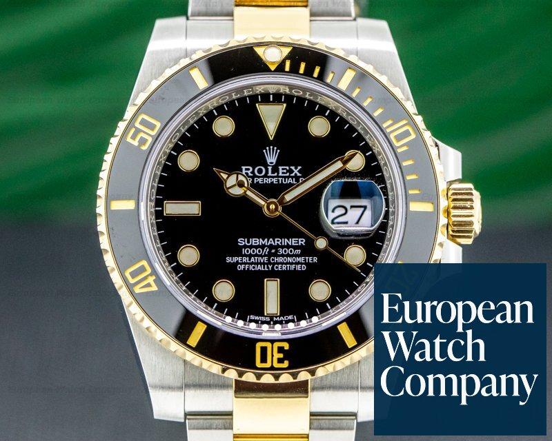 Rolex Submariner 116613LN Ceramic Black Dial 18K / SS 2020 DISCONTINUED Ref. 116613LN