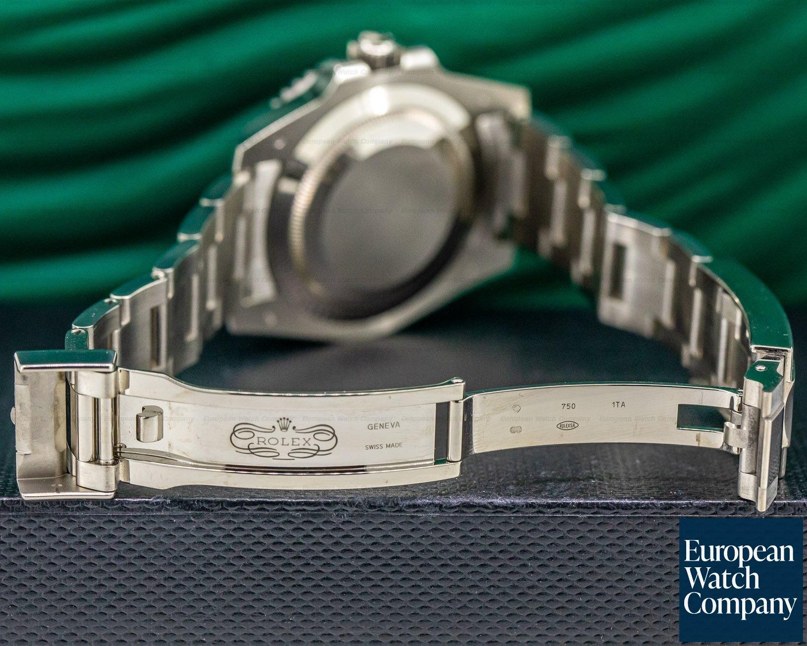 Rolex 116619LB Submariner 18K White Gold Blue Dial