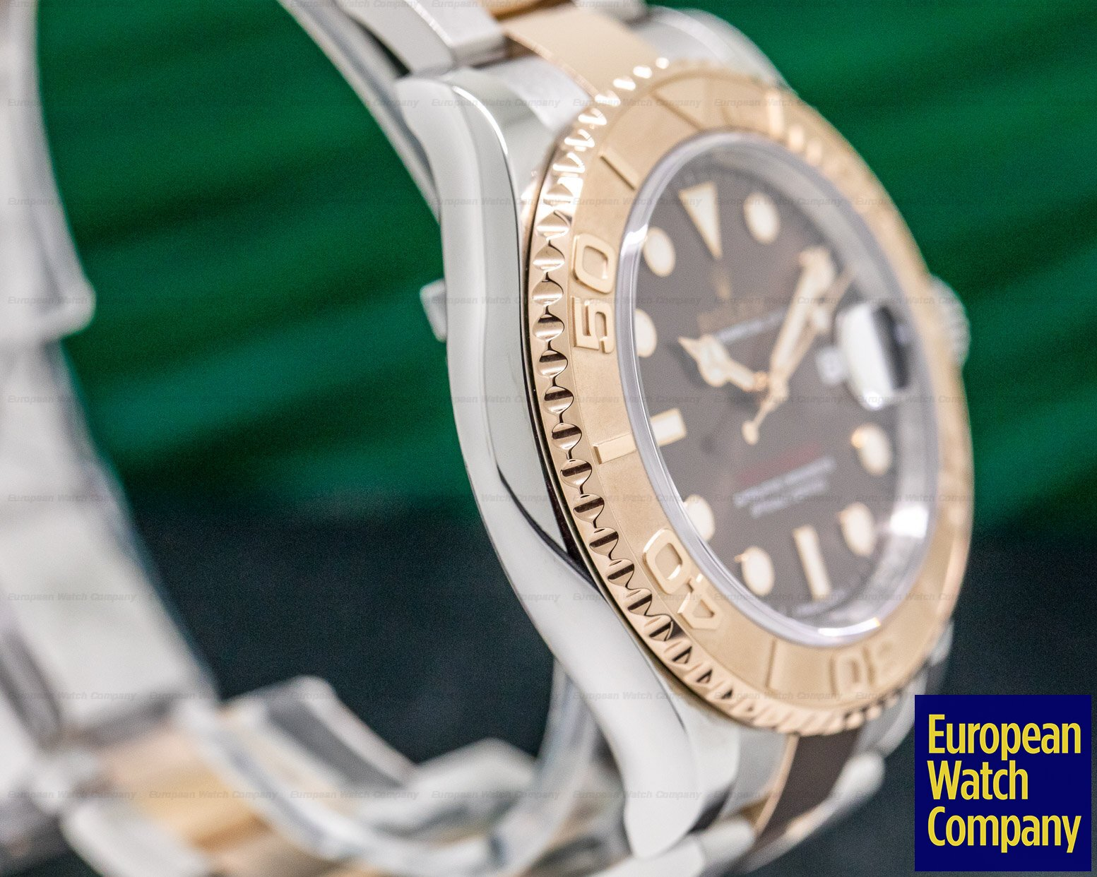 Rolex 116621 Yacht Master 18K / SS Chocolate Dial