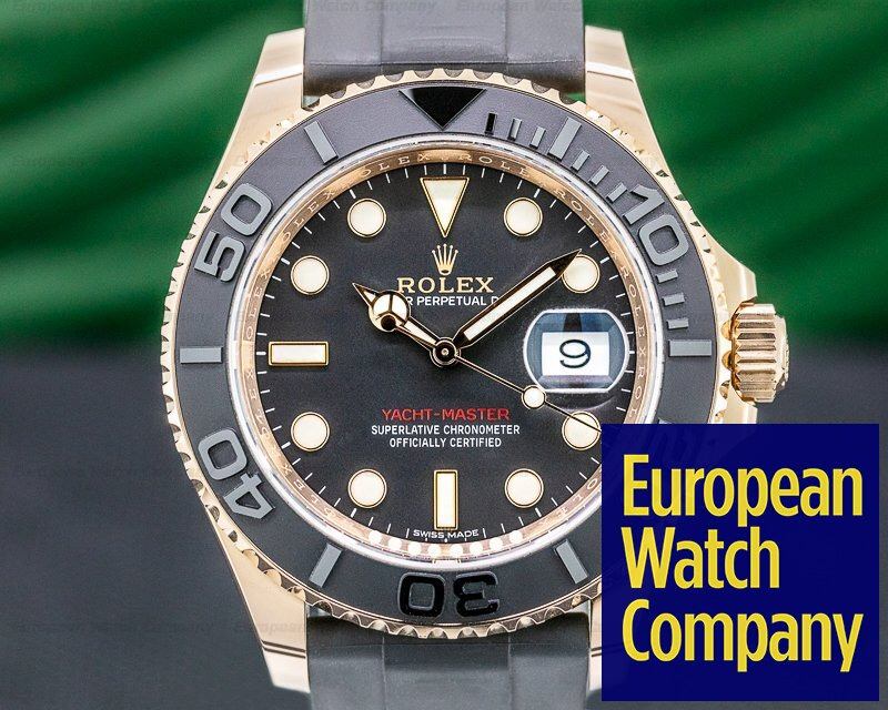 Rolex 116655 Yacht Master 116655 18K Rose Gold / Rubber