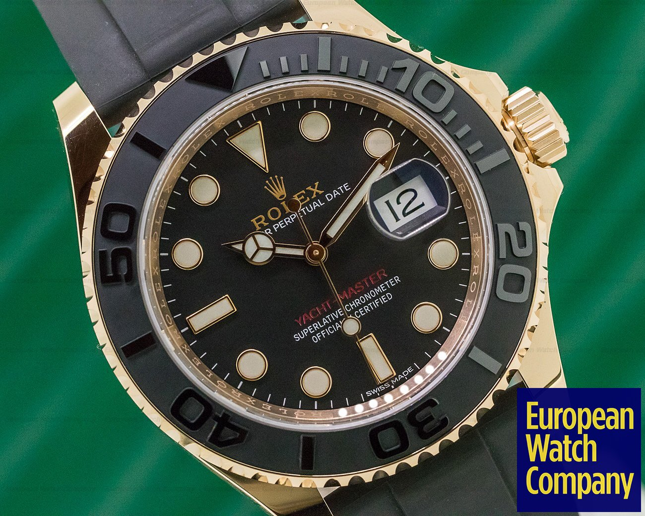 Rolex 116655 Yacht Master 18K Rose Gold / Rubber