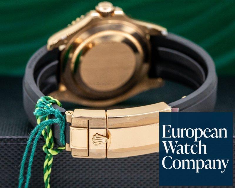 Rolex 116655 Yacht Master 18K Rose Gold / Rubber UNWORN