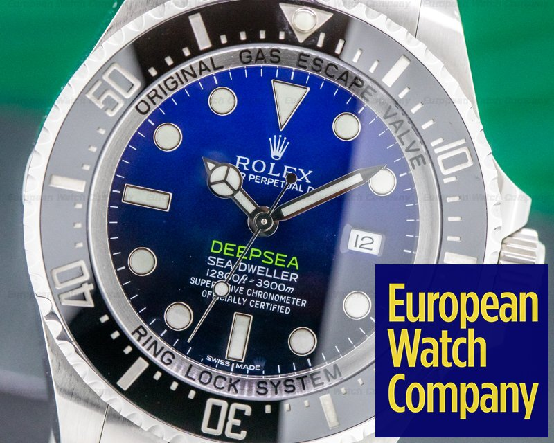 Rolex 116660 Sea Dweller Deep Sea D Blue JAMES CAMERON