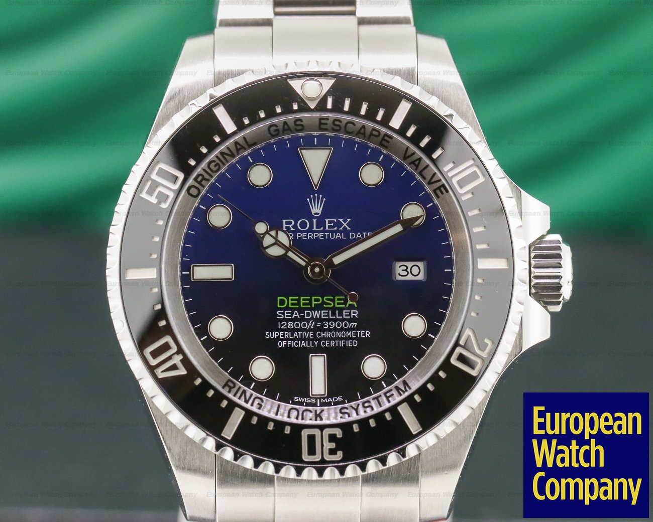 Rolex 116660 Sea Dweller Deep Sea Deep Blue JAMES CAMERON
