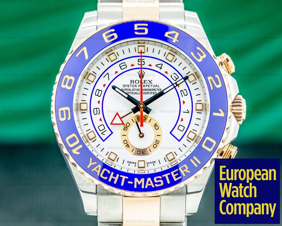 Rolex 116681 Yacht Master II 116681 SS / 18K Rose