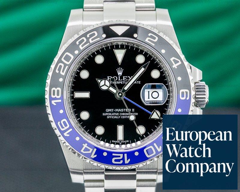 Rolex 116710BLNR GMT Master II 116710 Ceramic