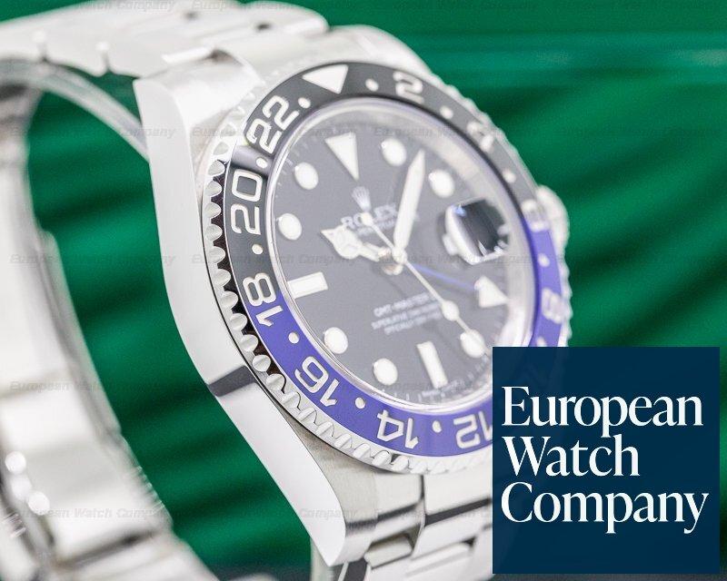 "Rolex 116710BLNR GMT Master II 116710 Ceramic ""Batman"" SS"