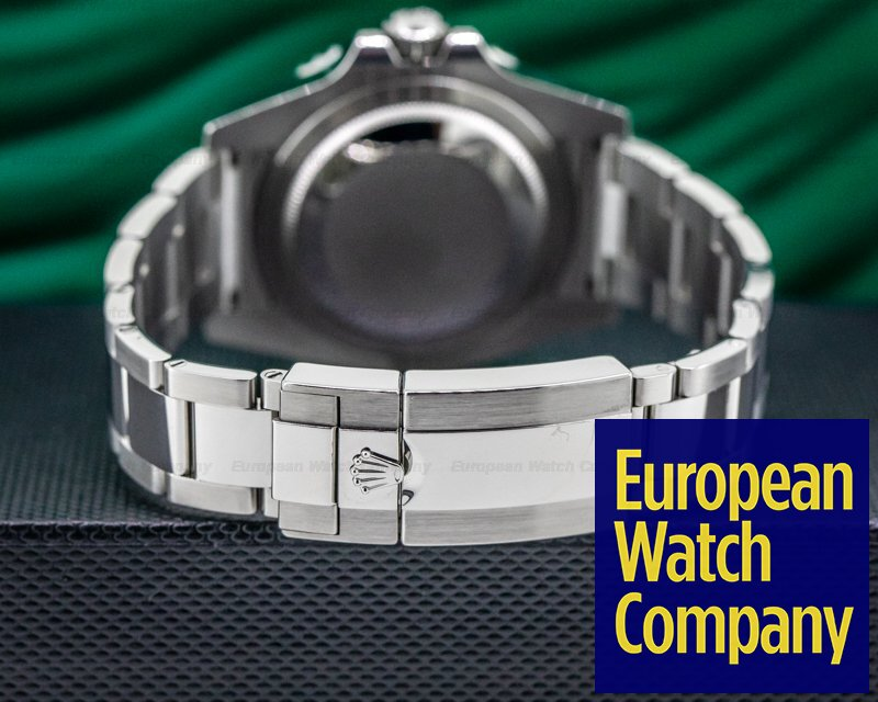 "Rolex 116710BLNR GMT Master II 116710 Ceramic Black & Blue ""Batman"" SS"