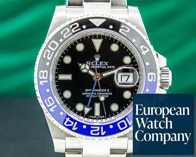 Rolex 116710BLNR GMT Master II 116710 Ceramic Black & Blue SS Oyster