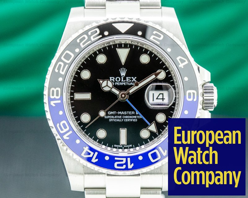 Rolex 116710BLNR GMT Master II Ceramic Black & Blue