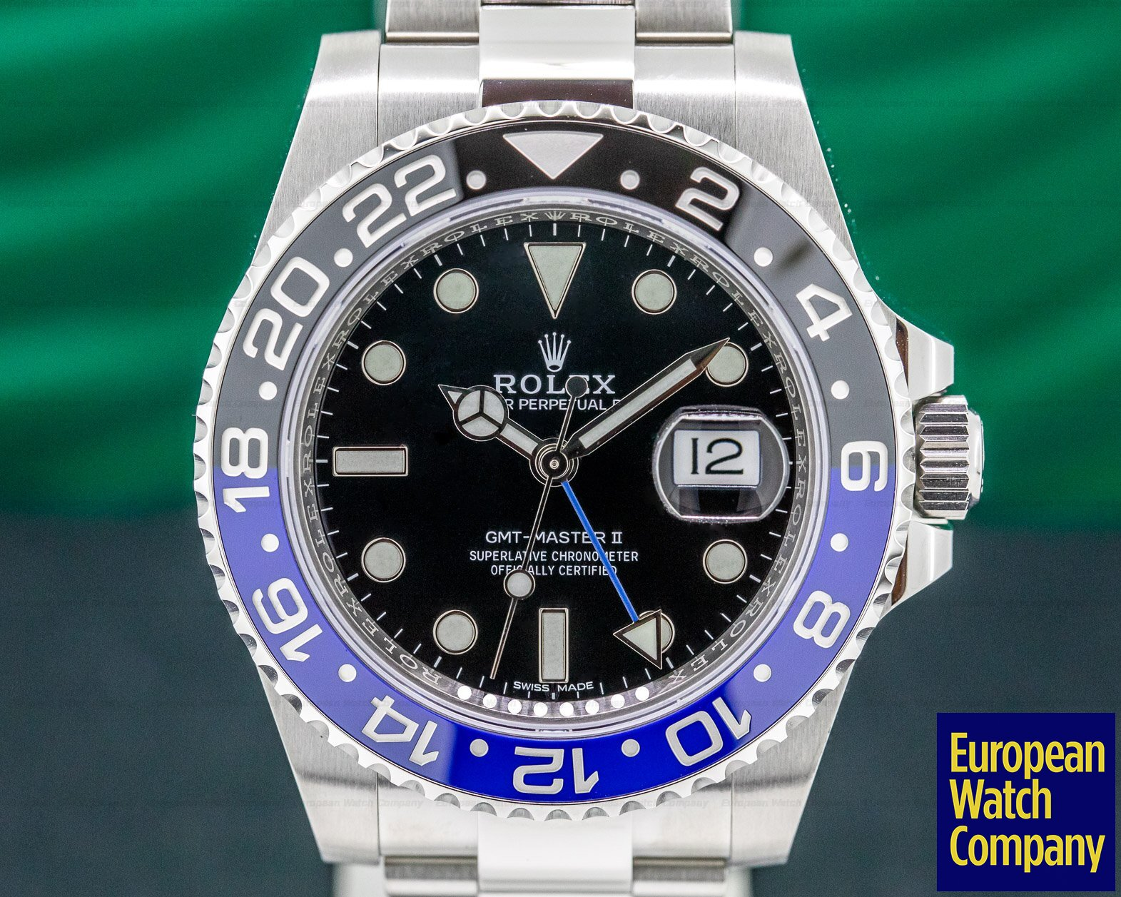 Rolex 116710BLNR GMT Master II Ceramic Black & Blue