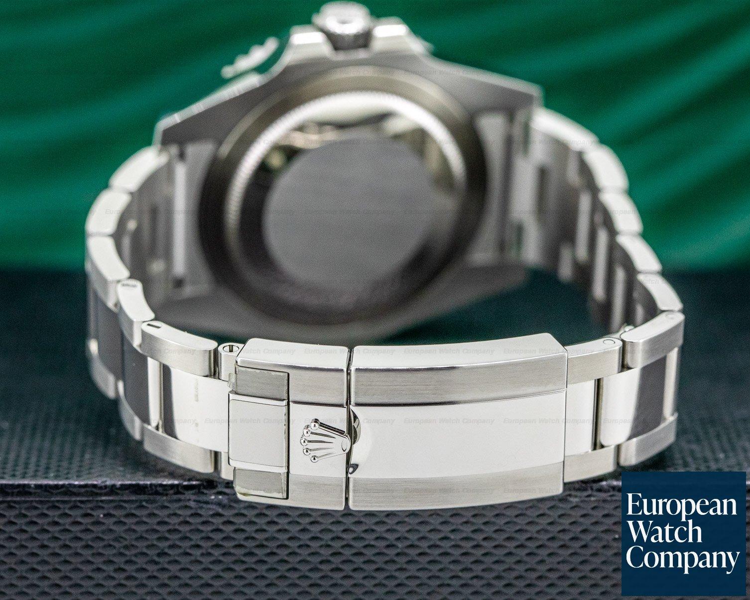 "Rolex 116710BLNR GMT Master II Ceramic Black & Blue ""Batman"" SS UNWORN"