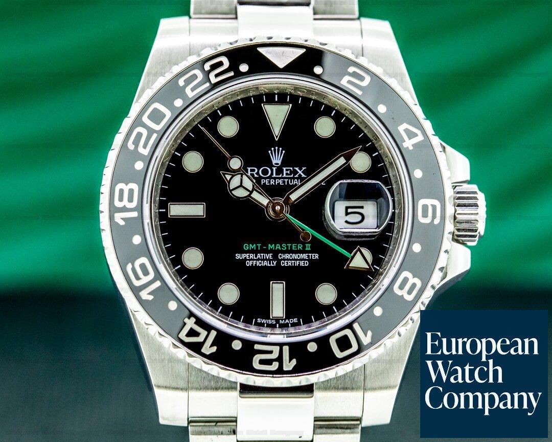 Rolex GMT Master II 116710LN Ceramic SS Ref. 116710LN