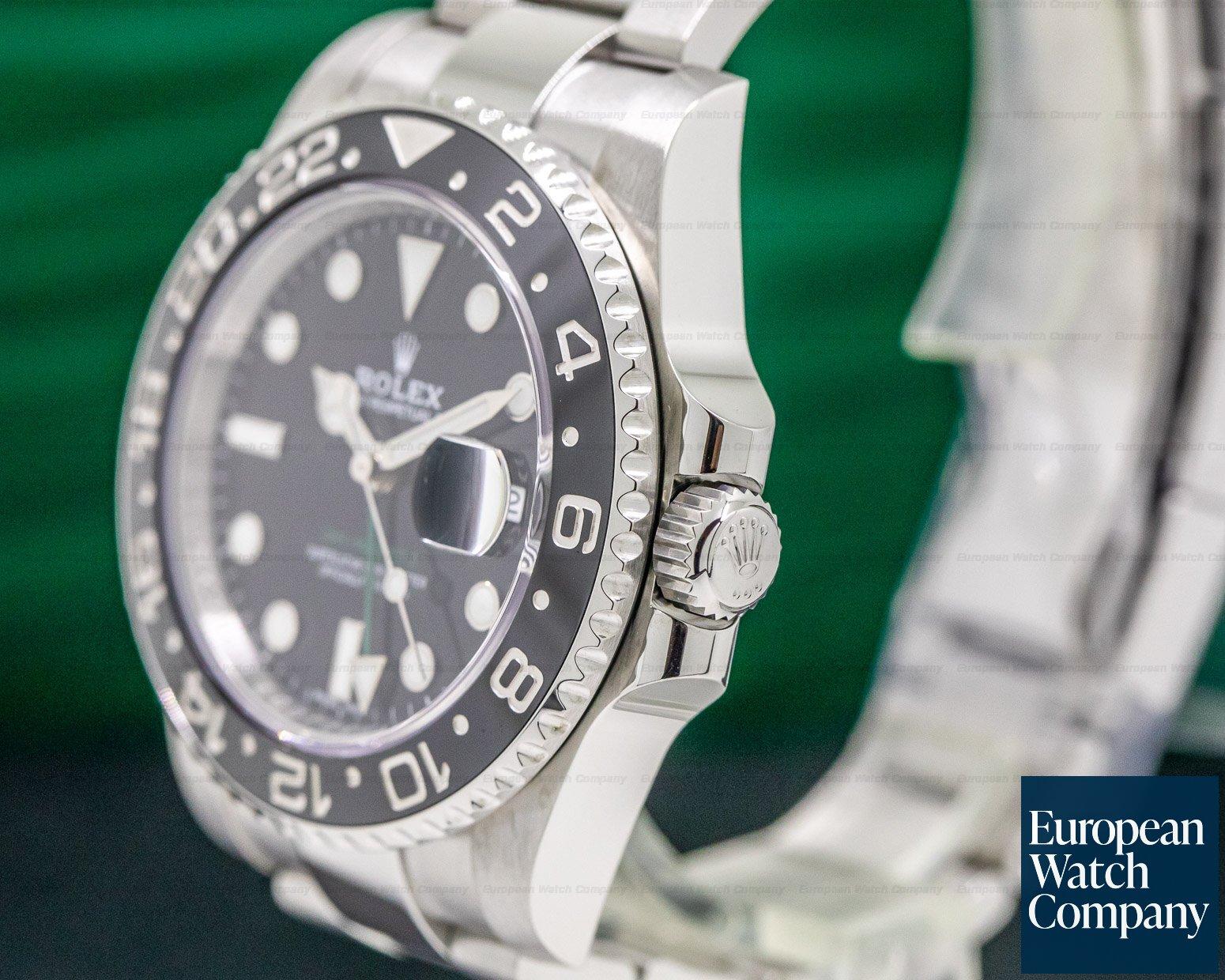 Rolex 116710LN GMT Master II Ceramic SS / SS 2018