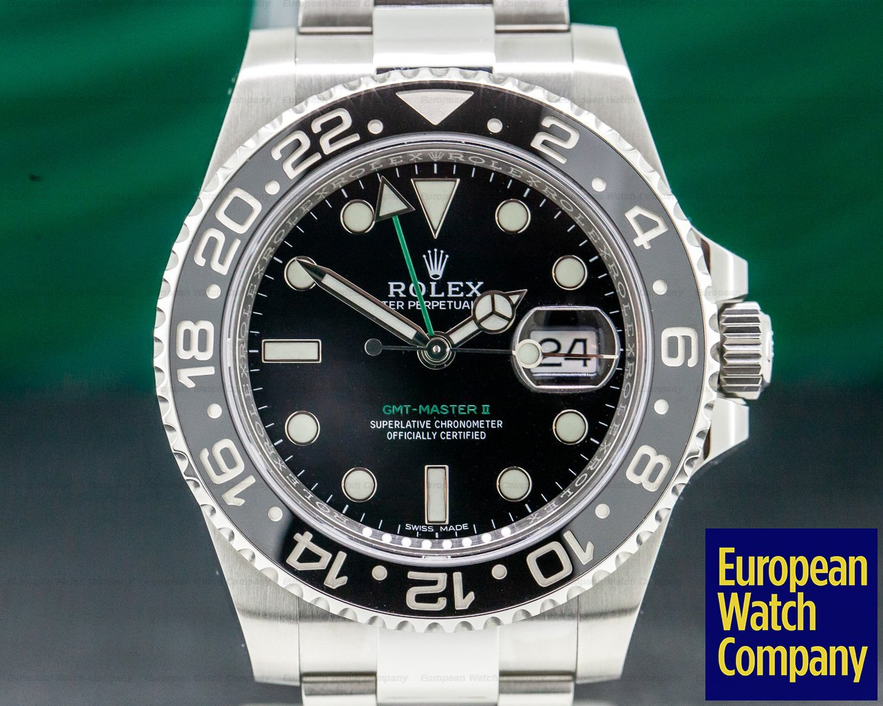Rolex 116710LN GMT Master II Ceramic SS 2019 FINAL PRODUCTION