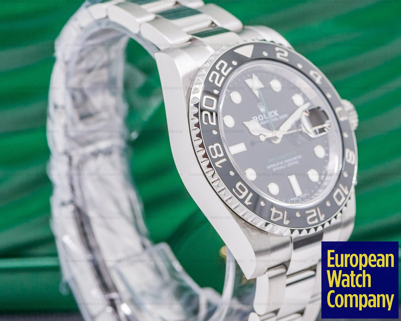 Rolex 116710LN GMT Master II Ceramic SS FINAL YEAR OF PRODUCTION
