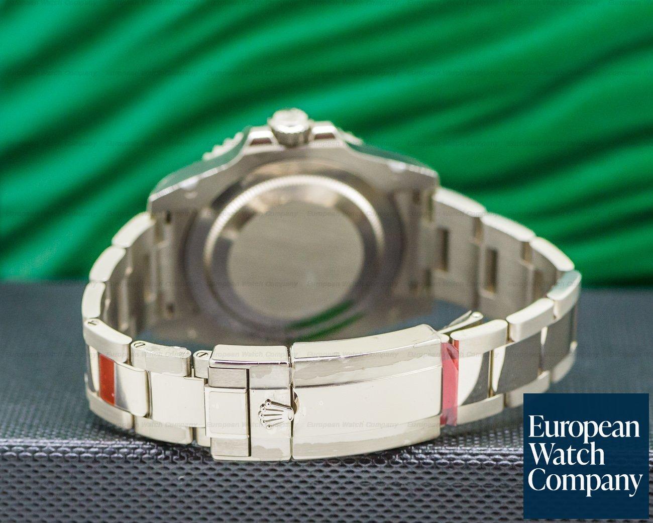 Rolex 116719 BLRO BLUE GMT Master II BLUE DIAL RARE 18K White Gold UNWORN