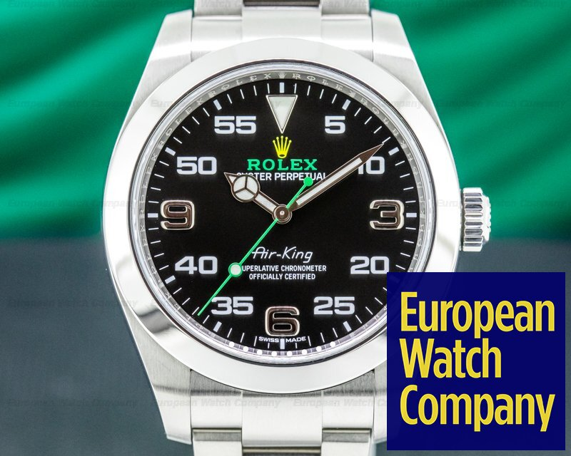 Rolex 116900 Air King 116900 Black Dial SS