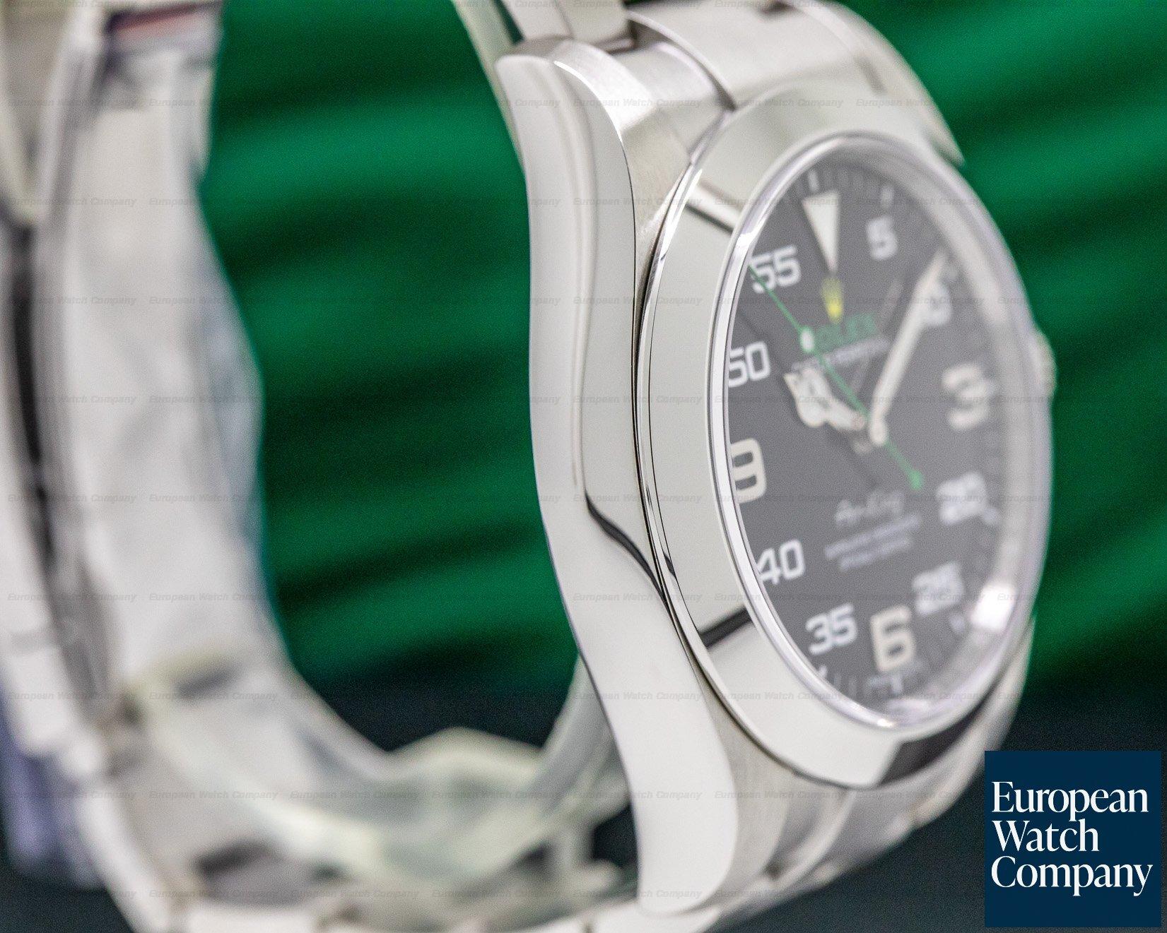 Rolex 116900 Air King OMAN KHANJAR Black Dial SS FULL SET