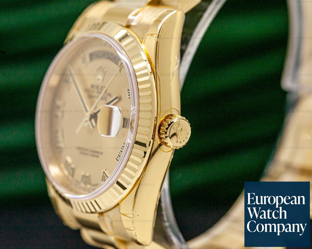 Rolex 118238 Day Date President OMAN KHANJAR Champagne Dial 18K Yellow Gold